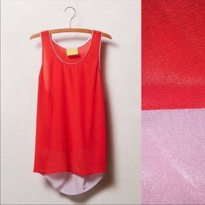 Anthropologie Maeve colorblock tank top